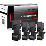 4 Logic-Seek Toner kompatibel zu Kyocera TK-5240 für Kyocera Ecosys M-5526cdn M-5526cdw P-5026cdn P-5026cdw