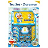 GoMerryKids Role Play Tin Tea Set Children Tea Party (Doraemon)