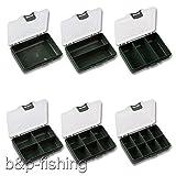 Tackle Box Angelboxen für Kleinteile Angel Zubehör Boxen Sortierbox Aufbewahrungsbox (3 Fächer)
