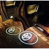 Automaze Ghost Shadow Light For Toyota Cars | Door Welcome Light | Car Logo LED | Door Projector LED
