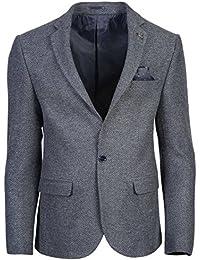 SMC by SEMCO Herren Premium Woll Sakko CKT-6058 - Slim Fit