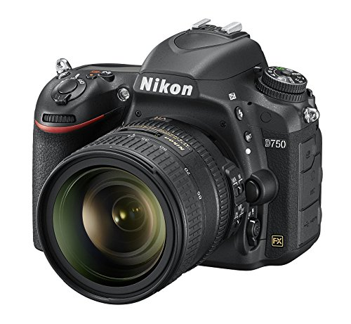 Nikon D750 + AF-S NIKKOR 24-85mm 24.3MP CMOS 6016 x 4016pixels Black - Fotocamera Digitale (SLR Camera Kit, CMOS, 6016 x 4016 pixels, 6016 x 4016 4512 x 3008 3008 x 2008 5008 x 3336 3752 x 2504 2504 x 1664 3936 x 2624, 16:9, 35.9 x 24 mm)