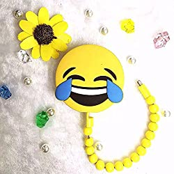 Biaba Collection New Design 8800mah Devil Smiley Power bank Battery Portable Cute Cartoon Phone Battery Charger For All Mobile Phone(Free 3 USB Mini LED Light) Beautiful Design
