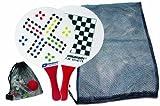 Schildkröt Funsports Beachball Set Spiele Set  DIV. Spielezubehör, weiß / rot, 970105