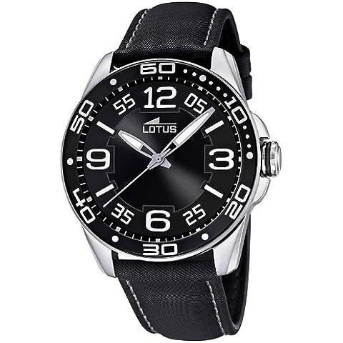 Lotus 15783/6 - Reloj para mujeres, correa de cuero color negro