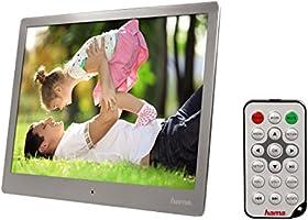 "Hama 95276 Digital Image Frame Steel Premium Cadre photo numérique 9.7 "" USB"