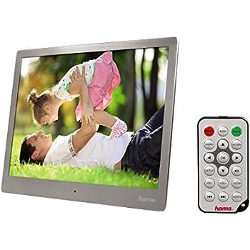 "Hama 95276 Digital Image Frame Steel Premium Cadre photo numérique 9.7"" USB"