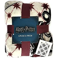 Harry Potter Gryffindor Supersoft Manta 150cm x 125cm
