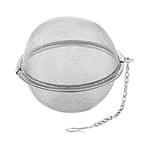 sourcingmap Teefilter Haus Edelstahl Masche Würzen Filter Tee Infuser Sieb 7cm Dm DE de