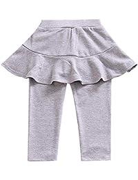 94b4bbd1ba 1-8 años bebé niña caliente pantalones con falda tutu culottes