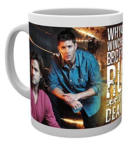 GB eye, Supernatural, Sam and Dean, Tazza