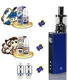 Geschenkset I Stick IStick 40W TC Starterset E-Zigarette Elektro Zigarette Komplettset SC mit Premium American Stars Liquid ohne Nikotin