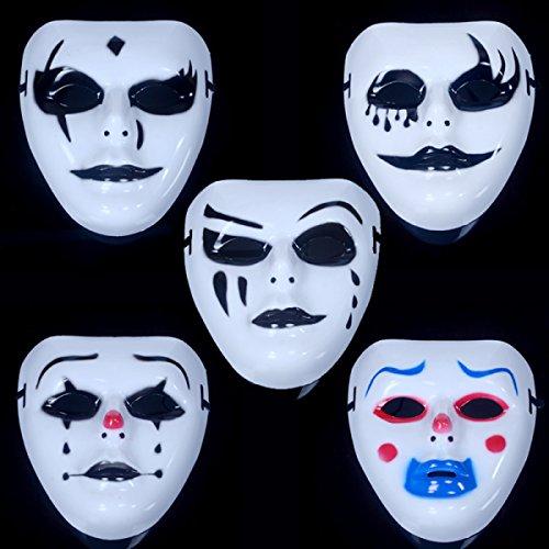 Ginging Mascaras De Halloween Hombres Senoras Mascaras De Terror - Mascaras-de-halloween-de-terror