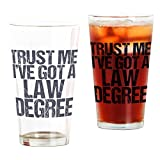 Best CafePress Attorneys - CafePress - Lawyer Trust Me - Pint Glass Review