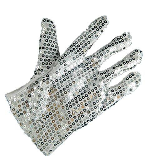 MultiColor Pailletten blinkende leuchtende Handschuhe für Clubs, Raves, Festivals, Halloween, Lagerfeuer Nacht, Party, Spiele, Fäustlinge auf Winter Party (Herbst-festival-halloween-spiele)