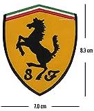 GadgetsGlobal Motor Racing Automobile Formule 1 Racing - Logo Iron-on Patch pour Voiture de Sport (Ferrari Cheval)