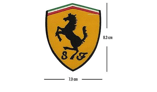 Car Marlboro Iron On Applique Embroidery écusson Brodé Rally Motorsport Ferrari Patch Patches Cadeaux Et Produits Dérivés