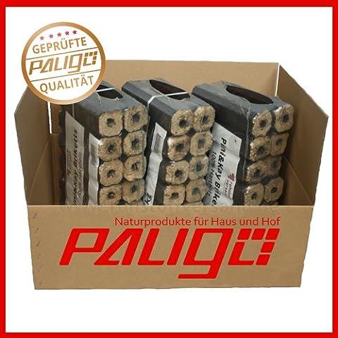 Bricchetta in legno pinikay mattonelle di legno duro di faggio/quercia 10kg x 3(30kg/1cartone)
