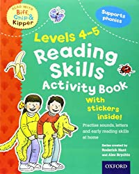 Oxford Reading Tree Read With Biff, Chip, and Kipper: Levels 4 to 5: Reading Skills Activity Book