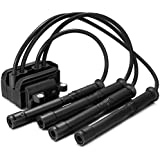 Paquete de cables de encendido Dromedary para bujías 8200084401 1.2 16 V