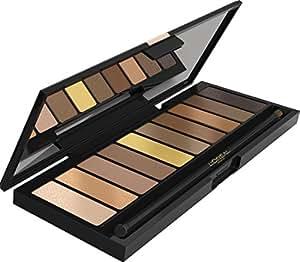L'Oréal Paris Color Riche La Palette Nude Eyeshadow, Lidschattenpalette, 1er Pack (1 x 7g)