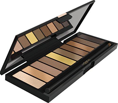 L'Oréal Make Up Designer La Nude Palette Ombretti 10 Colori, Beige