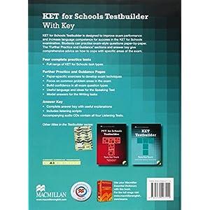 KET For Schools Testbuilder. Pack book + 2 CDs