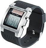 St. Leonhard Herren Uhr Digital Digitales Quarzwerk mit Plastik Armband W208HS