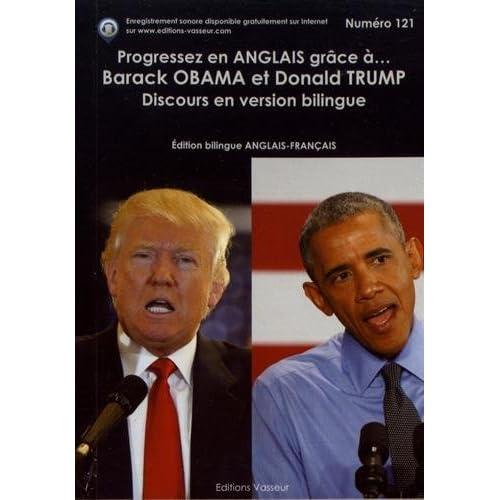 Progressez en anglais grâce à Barack Obama et Donald Trump