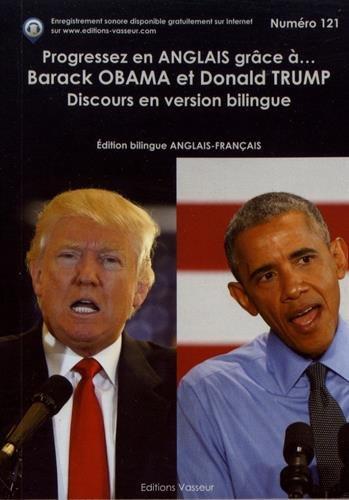 Progressez en anglais grâce à Barack Obama et Donald Trump par Vasseur Jean-Pierre