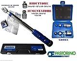 Pastorino Expert Clé dynamométrique 10–50Nm, 9mm (3/8') + adaptateurs de réduction et augmentation