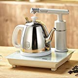 PEIEI- Set Teekanne Tee Automatische Pumpen Smart Wasser Tee Wasser Absauggerät Ganze Einschicht Wasserkocher Weiß