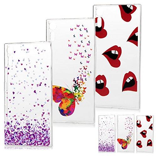 sony-xperia-xz-sony-xperia-xzs-silicone-cases-3-pack-maxfeco-flexible-deform-resistant-tpu-gel-cover
