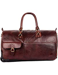 The Clownfish Regnant 44 Liters Hickory Travel Duffle Trolley, Duffle Bags For Men, Duffle Bag For Women, Duffle...