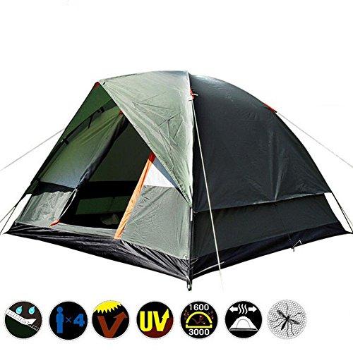 OO-Tenda da campeggio HH-2-3 Person Family Tenda da campeggio 4...