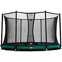 Berg Toys 35.39.06.00 Trampolin Comfort 270 Inground Champion mit Sicherheitsnetz