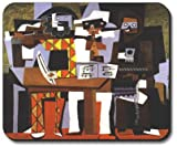 Picasso: Three Musicians - Art Plates Brand Mouse Pad