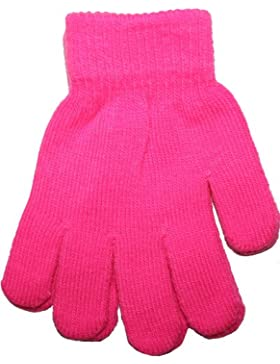 Fluoreszierende Kinder Handschuhe, neonfarben