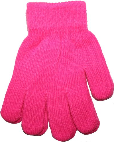 listello-decorativo-fluor-allestremita-guanti-da-bambino-colori-al-neon-rosa-fuerte-taglia-unica