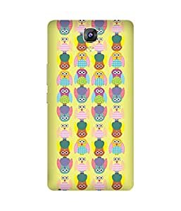 Stripes And Elephant Print-17 Gionee Marathon M5 Case