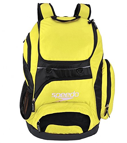 Speedo T-KIT Teamster Mochila, Unisex Adulto, Amarillo, 35 l