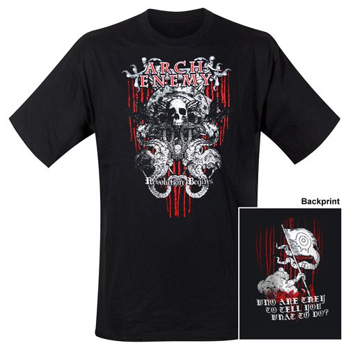 Arch Enemy - T-Shirt Revolution (in L)