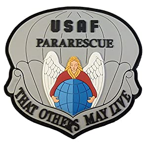 THAT OTHERS MAY LIVE USAF Pararescue PJ Morale PVC 3D Velcro Écusson Patch