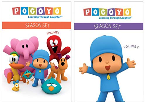 Pocoyo Learning Through Laughter: Season Set Volume 1 & 2 DVD Collection