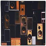 Best Vintage Speakers - 3dRose Print of Vintage Speakers Lined up in Review