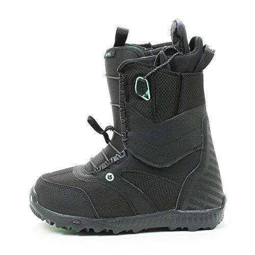 Burton 10627101017Menthe Snowboard Bateau, Taille 9, Black/menthe Black