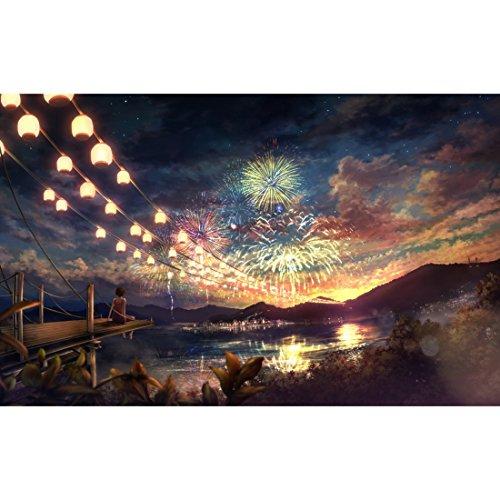 0 Teile - Glow in The Dark Jigsaw Puzzle für Erwachsene und Kinder - Feuerwerk ()