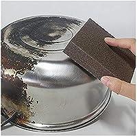 caxmtu 3pcs Magic Carborundum cepillo sanging esponja para Pot tetera hervidor de agua cal limpieza gran