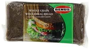 Benus Wholegrain Wholemeal Bread Green 500 g (Pack of 12)