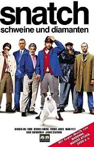 Snatch - Schweine und Diamanten [VHS]: Benicio Del Toro